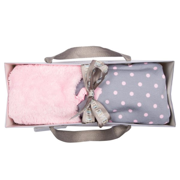 Baby blanket polka dot cheeky chompers 4