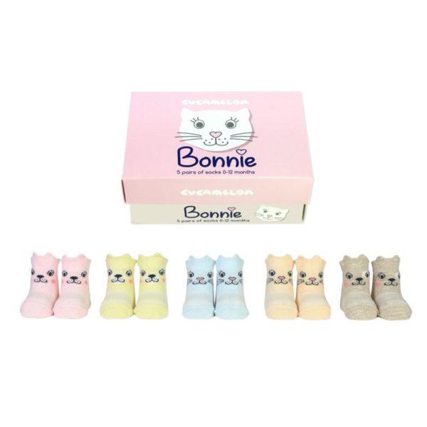 Baby socks cats
