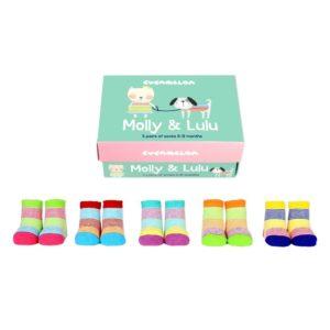 Baby socks poppets