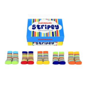 Baby socks stripey