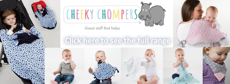 Cheeky Chompers range banner