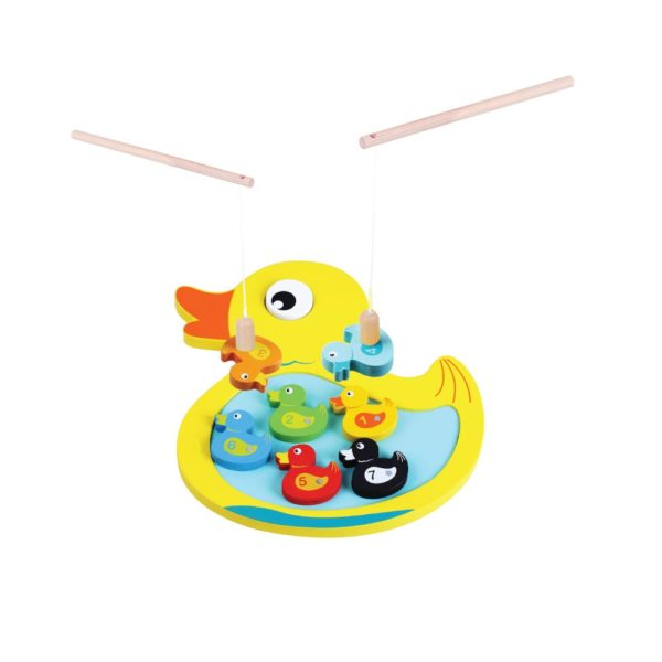 Duck game wooden toy 1