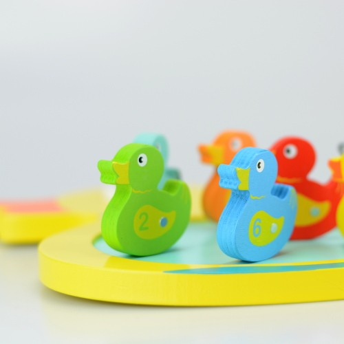 Duck game wooden toy 2