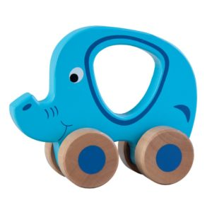 Elephant wooden toy