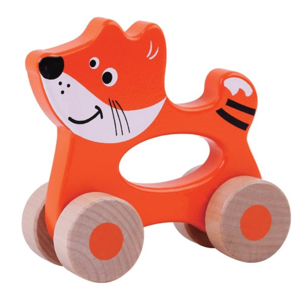 Fox wooden toy