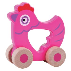 Hen wooden toy