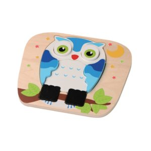 Owl Puzzle wooden toy 1