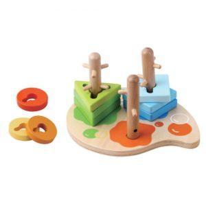 Peg puzzle wooden toy 1