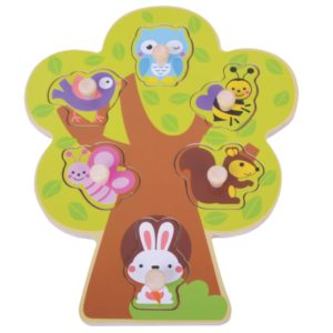 Tree puzzle wooden toy 1