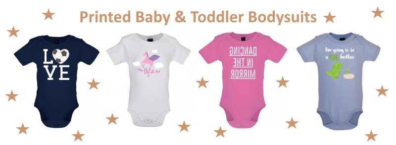 Baby bodysuit banner
