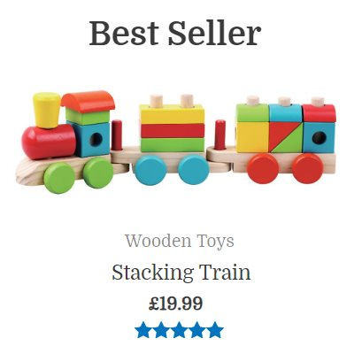 Best seller stacking train toy2