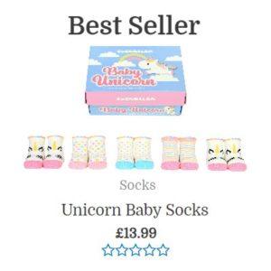 Best seller unicorn socks