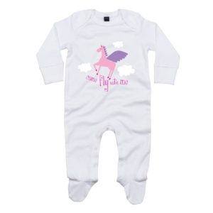 Fly with baby sleepsuit
