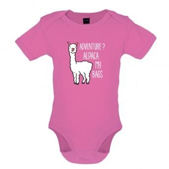 alpaca bodysuit pink