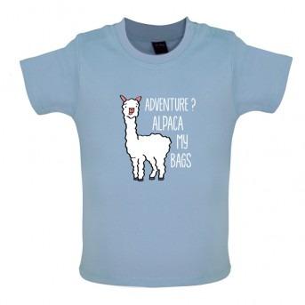 alpaca t-shirt blue