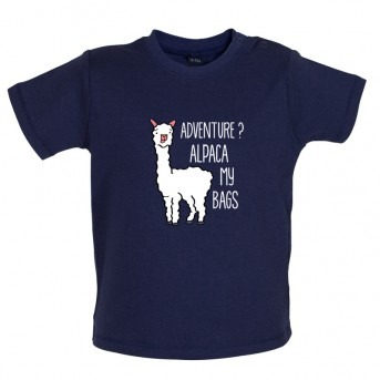 alpaca t-shirt navy