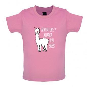 alpaca t-shirt pink
