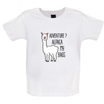 alpaca t-shirt white