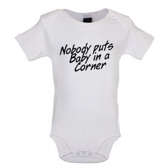 baby corner baby bodysuit white