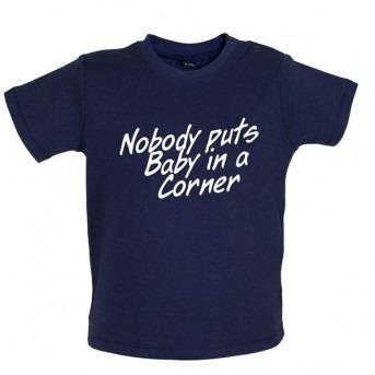 baby corner baby t-shirt navy