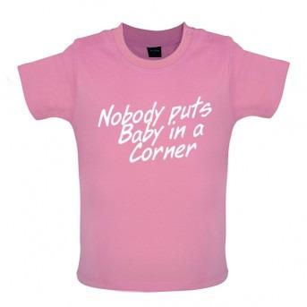 baby corner baby t-shirt pink