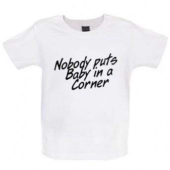 baby corner baby t-shirt white