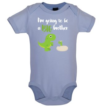 big brother baby bodysuit blue