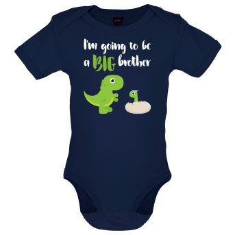 big brother baby bodysuit navy