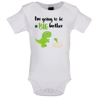 big brother baby bodysuit white