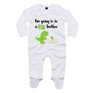 big brother baby sleepsuit