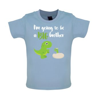 big brother baby t-shirt blue