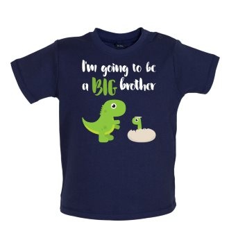big brother baby t-shirt navy