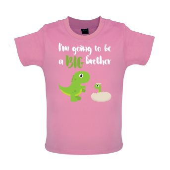 big brother baby t-shirt pink