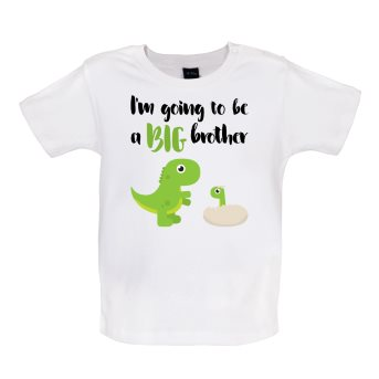 big brother baby t-shirt white