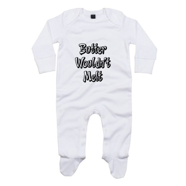 butter baby sleepsuit