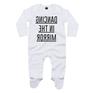 dancing baby sleepsuit