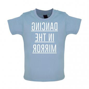 dancing baby t-shirt blue