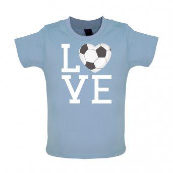 i love football t-shirt blue