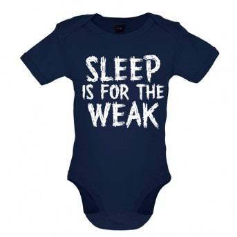 sleep baby bodysuit navy