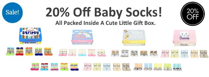 Baby sock sale