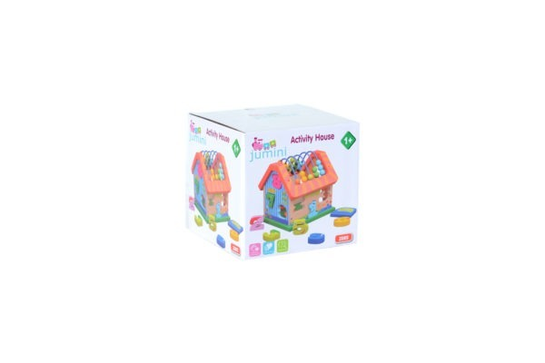 Wooden toy, Activity house 4