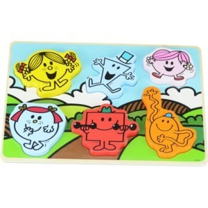Wooden toy, Mr men chunky puzzle 1