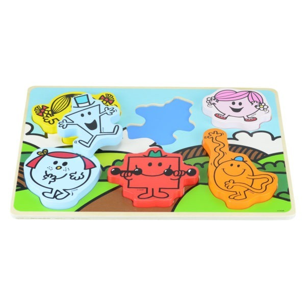 Wooden toy, Mr men chunky puzzle 3