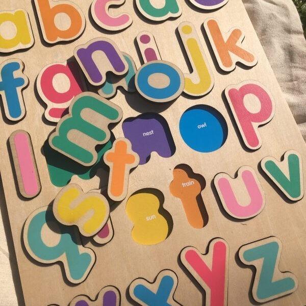 Jumini Wooden Alphabet Puzzle 2