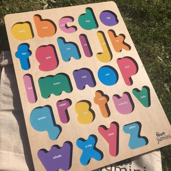 Jumini Wooden Alphabet Puzzle 5