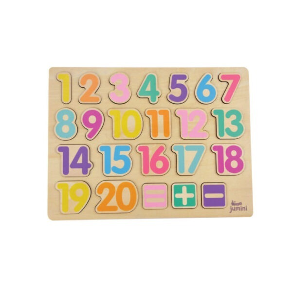 Jumini Wooden Number Puzzle 1