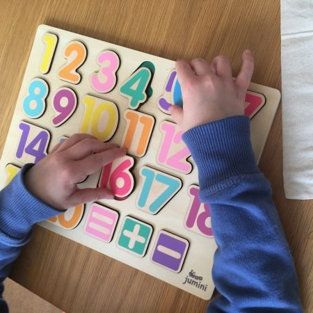 Jumini Wooden Number Puzzle 2