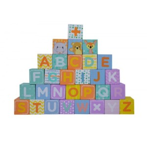Wooden Toys Baby walker with Blocks 6