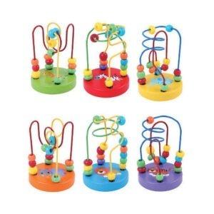 Wooden Toys mini bead coasters