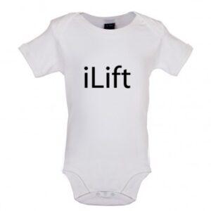 ILift baby Bodysuit, White